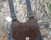 U R GREAT Coach~Coach Bag~ Bonnie Cashin Bag~Coach Saddle Bag~ Excellent Condition~Suede Leather