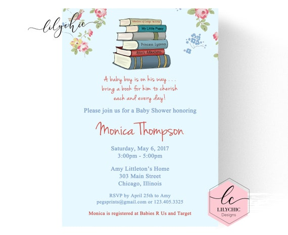 Storybook baby shower invitation printable book baby shower il570xn filmwisefo