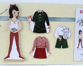 Vintage Betsy McCall Wooden Paper Doll February 1961 Limited Edition