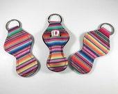 Serape Chapstick Holders, Chapstick Keychain, Chapstick Holder