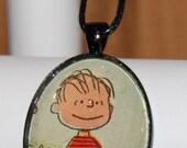 Peanuts Vintage 1963 Linus Charlie Brown Pendant Necklace