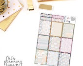 Fall Breeze Full Box Checklist Planner Stickers