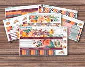 September Dawn Monthly Kit | Autumn Planner Stickers | ECLP | Happy Planner | Recollections Planner | Monthly Planner Stickers