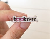 Selah Signs Booknerd Enamel Pin pin collection book nerd reading books