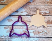 Front Facing Shark Cookie Cutter and Fondant Cutter and Clay Cutter
