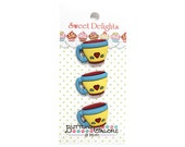 Coffee Cups Buttons Galore Sweet Delights Collection