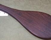 Wenge Miss Rose Paddles Exotic Hardwood Spanking Paddle - Jokari Paddle Style WG095