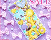 SALE !!! Kawaii sweet decoden iPhone 7 deco case -Favorite Sweets- by Dolly House