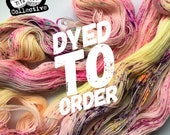 Dyed to Order - If I Want Exposure, I'll Get My Tits Out (for Science) - Hand Dyed Yarn