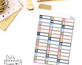 Fall Breeze Assorted Label Planner Stickers