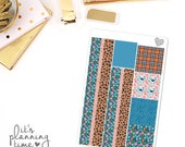 Just Smile Decorative Washi Planner Stickers