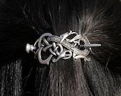 4*6cm vikings dragon hairpins rlw1438