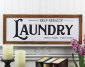 Laundry Sign Farmhouse Laundry Room Sign Magnolia Market Pioneer Woman French Country Chic Decor Rustic Fixerupper Urban Farmhouse Decor