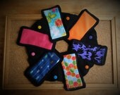 Little Liners Cozy Folk Pantyliner Set of 6 (your choice fabrics)