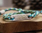 Forest friend naturelover macrame bracelet