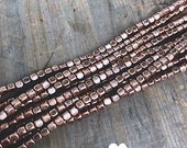 "16"" Copper Spacer Beads 3mm"