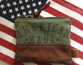 American Made Coin Pouch