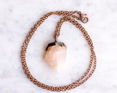 Small Rose Quartz Necklace