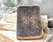 Antique KEY TO HEAVEN Prayer Manual Inspirational Book Bible Devotional Farmhouse Decor