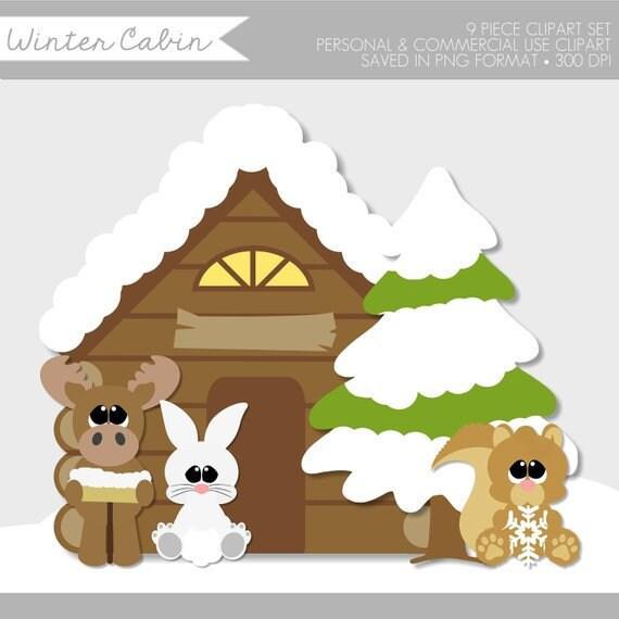 Christmas Clip Art Cute.Winter Clipart Winter Clipart Cute Winter Animals Clip Art