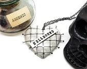 Hellraiser necklace, Cenobite necklace, Horror Movie, Horror Necklace, Doug Bradley, Clive Barker, Hellbound