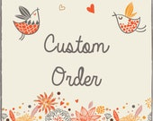 Custom Listing - Small Butterfly mobile - Ombre Pastel Pink and White