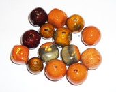 Kazuri Mixed Bead Packs, Sale Strands, Deep Discounts, Dollar Beads, Fair Trade Ceramic Beads from Africa