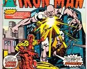 Iron Man #85 (1st Series 1968) April 1976  Marvel Comics  Grade VG