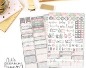 Forever and Always 2 Page Planner Sticker Kit