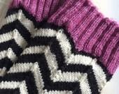 Handpainted Self-Striping Sock Yarn -  BLACKJACK