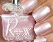 Selenite & Rose Quartz - Self-Love  - Crystal Infused Nail Polish - Heart Chakra - Cruelty Free - Non Toxic