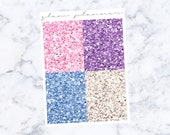 PRE-SALE! All of You Glitter Headers (Glam Planner Stickers for Erin Condren Life Planner)