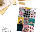 Harvest Decorative Full Box Planner Stickers