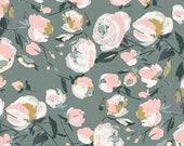 Art Gallery Fabrics - Fusion sparkler -FUS-SK-1303 everlasting blooms
