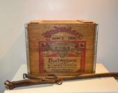 Budweiser/Anheuser-Busch Wood Crate