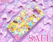 SALE !!! Kawaii sweet decoden Samsung Galaxy deco case -Favorite Sweets- by Dolly House