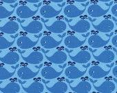 Westfalenstoff kleine Wale, 0,5m Junge Linie