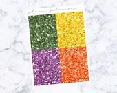 PRE-SALE! Friends Glitter Headers (Glam Planner Stickers for Erin Condren Life Planner)