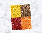 PRE-SALE! Halloweentown Glitter Headers (Glam Planner Stickers for Erin Condren Life Planner)