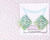 Textured Mermaid Earrings