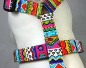 Dog Harness - Summer Stripes