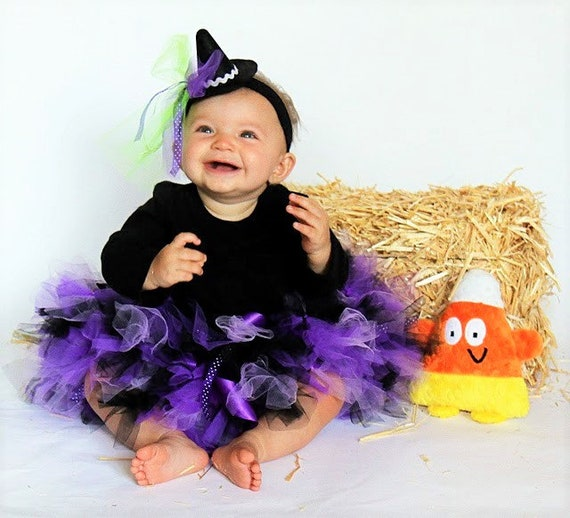 Il_570xn  sc 1 st  Catch My Party & Witch Costumes | Baby Girl Costumes | Halloween Costume Baby Girl ...