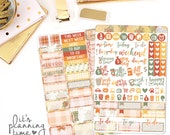 Sweater Weather 2 Page Planner Sticker Kit