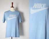 vintage 80's NIKE swoosh super soft unisex t shirt
