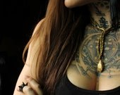 Gilded Serpent Gold Contemporary Necklace