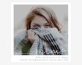 Just Because Mini Session Photoshop Template for photographer. Fall mini session template.  Marketing template. Instagram template.