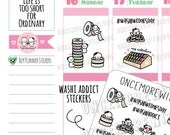Munchkins - Simply Gilded Bow Washi Addict Planner Stickers (M408)