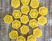 Pure Beeswax, Raw Beeswax, Natural Beeswax, Bee Supply, 8 ounces total weight, Sold By USA Beekeeper, Yellow Beeswax, 100% Beeswax
