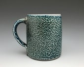 Cobalt Blue Pottery Mug - Coffee Mug - Soda Fired Pottery -  13 fl oz - Ron Philbeck (BB1)