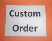 Custom Order; 2 rock cairns for Nita